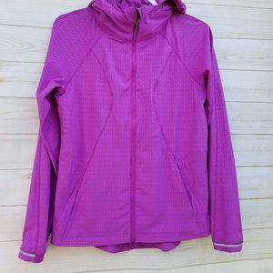 Lululemon rain jacket 8 violet vented back